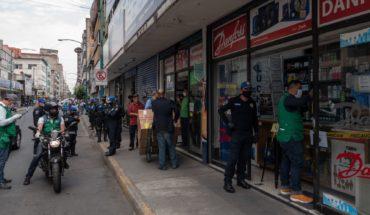 CDMX suspende 41 establecimientos por no ser actividad esencial