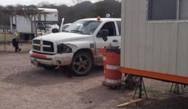 Camioneta se va contra puesto de control en la fitosanitaria, Concordia