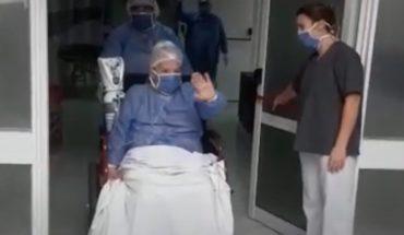 Coronavirus: luego de 25 días, una mujer fue dada de alta de terapia intensiva
