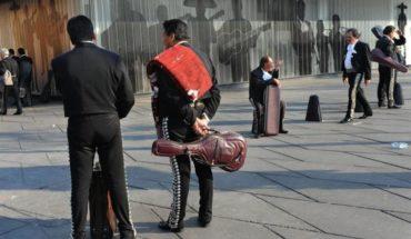 Covid-19: Incluso los mariachis de Garibaldi son afectados