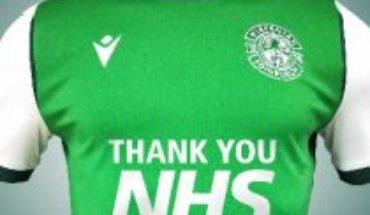 """El Hibernian escocés llevará escrito en su camiseta """"Gracias, sanidad pública"""""""