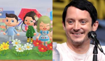 Elijah Wood se hizo viral por su forma de jugar Animal Crossing