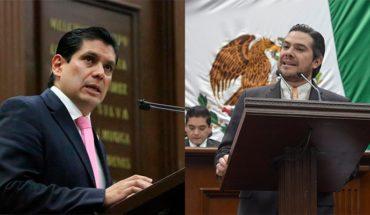 Ernesto Núñez y Eduardo Orihuela, impulsores del bloque legislativo en el Congreso