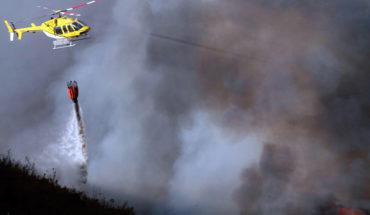 FNE acusó por colusión a 3 empresas de helicópteros para el combate de incendios
