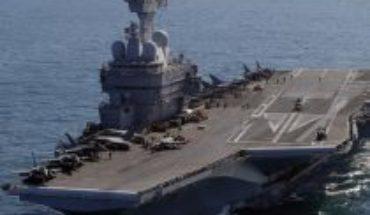 """Francia: Más de mil marinos dan positivo por COVID-19 en portaaviones """"Charles de Gaulle"""""""