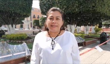 Frente a contingencia por Covid-19 en Puruándiro, Belinda Iturbide dona salario