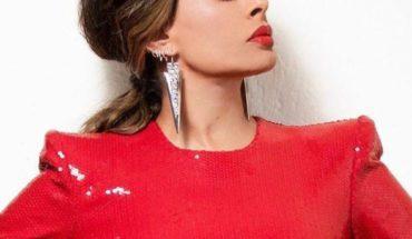 Galilea Montijo y su impresionante vestido rojo en Pequeños Gigantes
