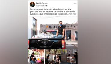 Hermano de dirigente nacional del PAN aprovecha pandemia para promocionar su imagen