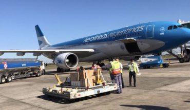 Hoy despega otro avión de Aerolíneas a China para buscar insumos