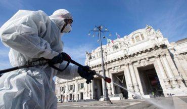 Italia registró 525 muertos por coronavirus, la cifra más baja en dos semanas