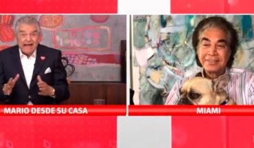 """José Luis Rodríguez, """"El Puma"""" en la Teletón: """"No se den la mano por favor"""""""