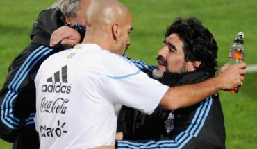 """Juan Sebastián Verón: """"Yo no estoy peleado con Maradona y nunca tuve nada"""""""