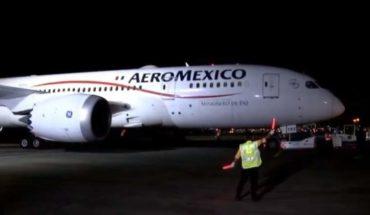 LLega a México avión con insumos médicos de China para atender el Covid-19
