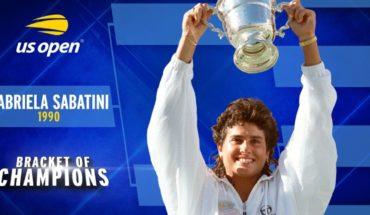 La mejor campeona: Gabriela Sabatini volvió a conquistar el US Open 30 años después