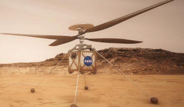 La próxima misión a Marte llevará un helicóptero