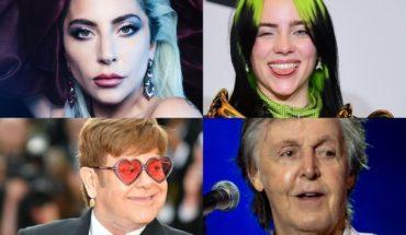 Lady Gaga se une a Paul McCartney, Billie Eilish y grandes artistas en un concierto solidario ante la pandemia
