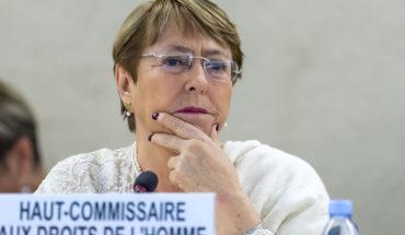 """Michelle Bachelet: """"La epidemia se está usando para justificar cambios represivos de la legislación convencional"""""""