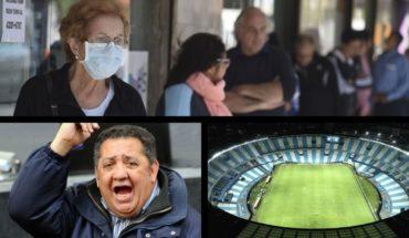 Nuevo cobro de jubilaciones, D'Elia internado, Alberto Fernández sobre el fútbol, Coronavirus en Islas Malvinas y más...