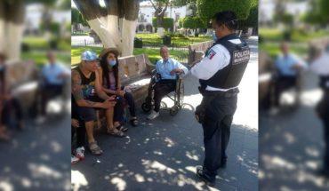 Personas que violen confinamiento en Morelia podrían ser llevados al juez cívico
