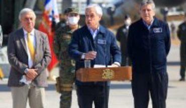 """Piñera advierte a quienes infrinjan cordones sanitarios: """"Los vamos a identificar y van a recibir las sanciones"""""""