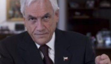 """Piñera afirma que Plebiscito va en octubre pero advierte que """"la recesión puede ser tan grande que este es un tema que quizás habrá que volver a discutir"""""""