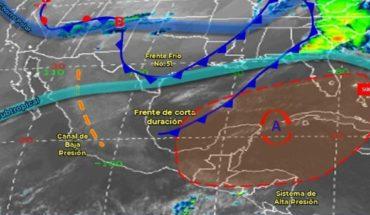 Pronóstico del clima de hoy: Fuertes vientos llegarán a México
