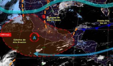 Pronóstico del clima de hoy: Prevén lluvias en más de 15 estados