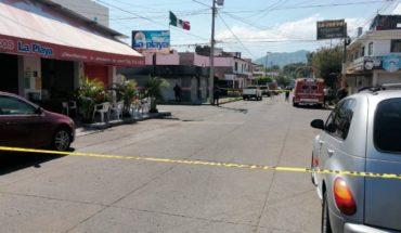 Quitaron la vida de un sujeto afuera de un restaurante de mariscos en Uruapan
