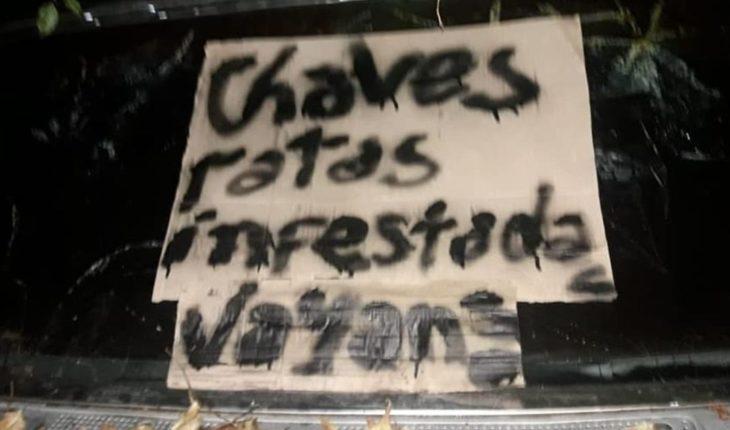 """""""Ratas infectadas"""": incendiaron el auto de una médica en La Rioja"""