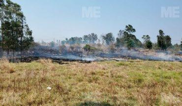 Se registra gran incendio en Jesús del Monte, Morelia