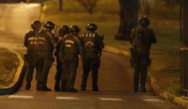 Subcomisaría de Peñalolén es tacada en pleno toque de queda