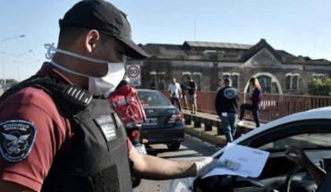 Total de 7965 detenidos por incumplir el aislamiento en la Ciudad de Bs.As.