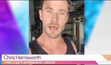 ¡Entrena gratis con Chris Hemsworth!   Vivalavi