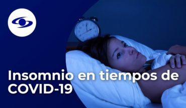 ¿Insomnio en cuarentena? Experta da consejos para combatirlo - Caracol TV