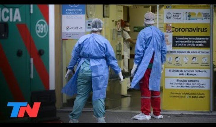 Coronavirus | primer muerto dentro del sistema de salud en el país