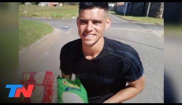 Cuarentena | Juega al fútbol en el ascenso y armó un comedor solidario