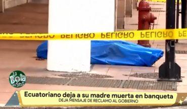 Dejan a personas sin vida en la calle   La Bola del 6