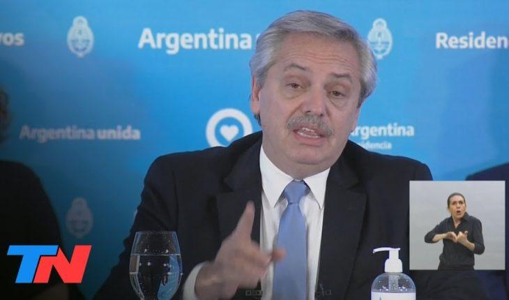 Extensión de la cuarentena: Los puntos clave del anuncio de Alberto Fernández