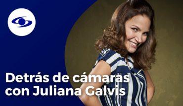 Juliana Galvis revela detalles de las escenas de besos y desnudos junto a Christian Meier