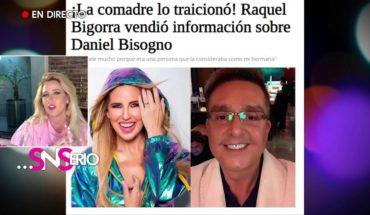 La polémica entre Raquel Bigorra y Daniel Bisogno | SNSerio
