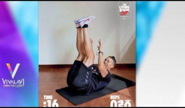 Superan a Cristiano Ronaldo en abdominales | Vivalavi