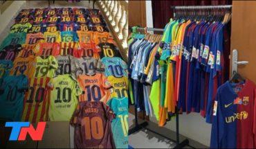 Un indonesio tiene la colección más grande de camisetas de Messi
