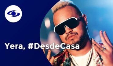 Yera presenta 'Que Fluya' y habla de la música que viene #DesdeCasa