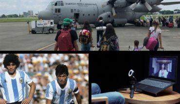 124 killed by coronavirus, Nathy Peluso in Caja Negra, Maradona about Passarella, the treatment of Fede Bal and more...