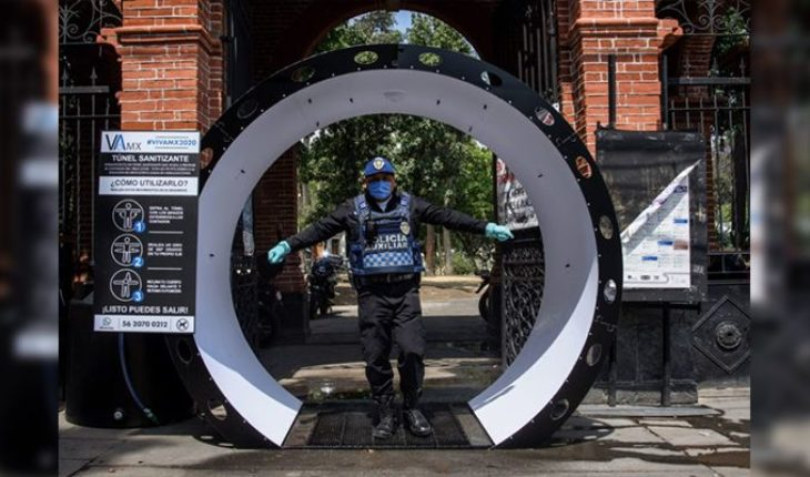 After Ssa's call, the sanitizing tunnels will be removed in CDMX