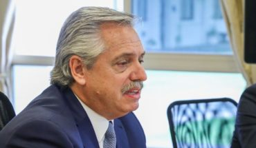 """Alberto Fernandez on the reduction of salaries to officials: """"I think it's a very demagogic act"""""""