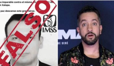 Chumel broadcasts 'Fake News', is criticized for mocking the pandemic; IMSS asks for seriousness