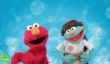Elmo and his Sesame Street friends give children advice on COVID-19