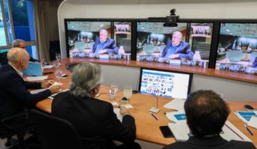 Fernandez held a video conference with governors to define quarantine