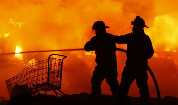 Fire is recorded in the Abastos Plant, in CDMX; there are 8 people injured
